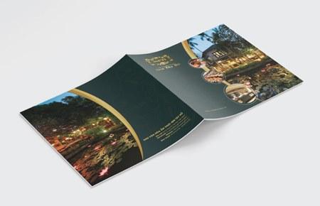 Thiết kế catalog Nhà hàng Sen Tây Hồ