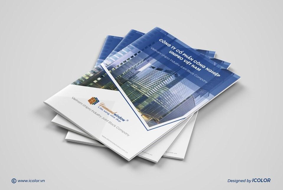Thiết kế profile | hồ sơ năng lực CTCP CN UNIPRO VN