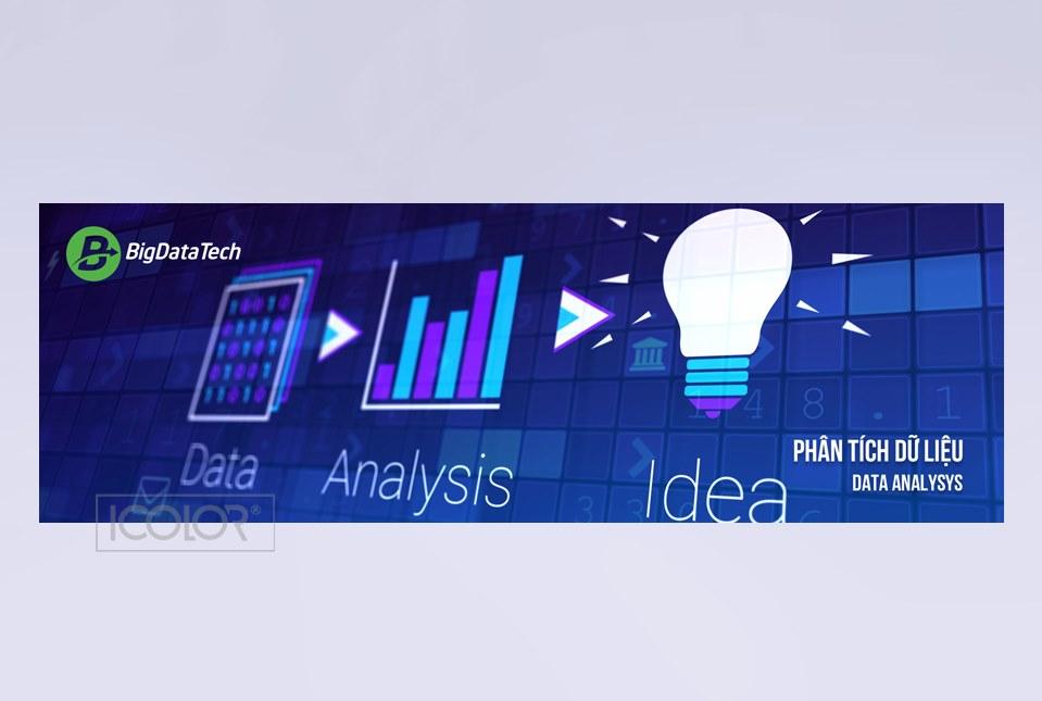 Thiết kế bộ nhận diện thương hiệu công ty công nghệ Phân tích Dữ liệu lớn
