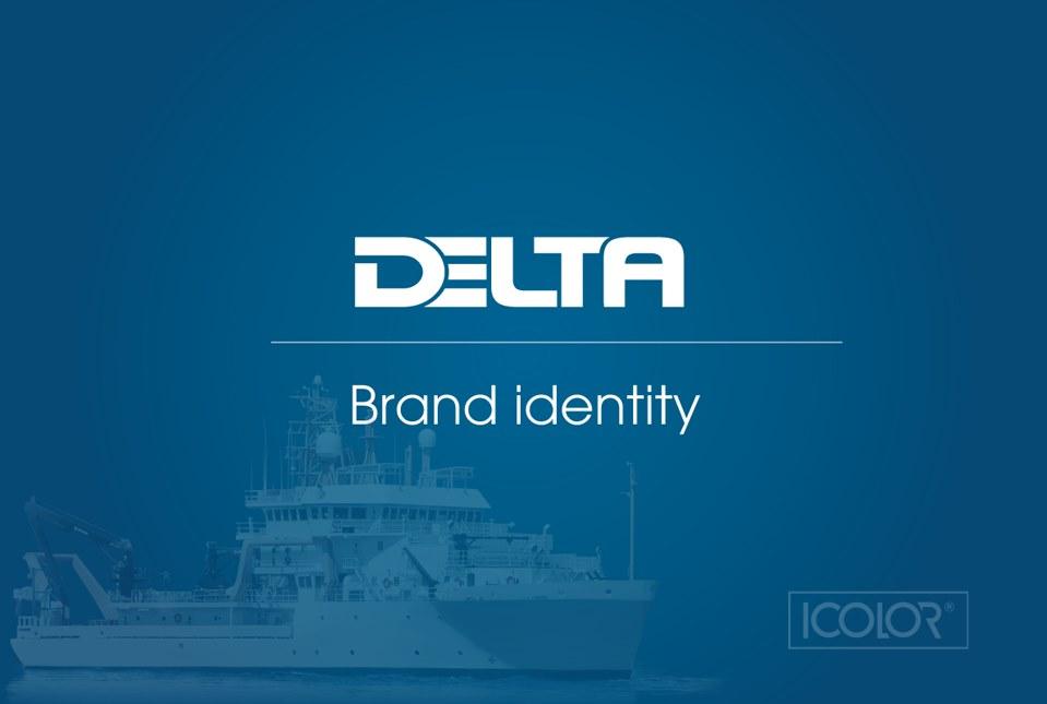 Thiết kế bộ nhận diện Công ty Hàng hải & Công nghiệp DELTA