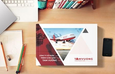 Thiết kế profile CTCP TMDV Du lịch Tam Vương