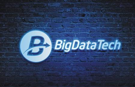 Thiết kế logo CT Giải pháp Công nghệ Phân tích dữ liệu lớn