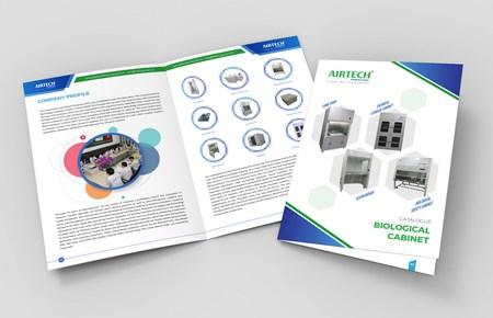 Thiết kế Catalogue CTCP Airtech Thế Long