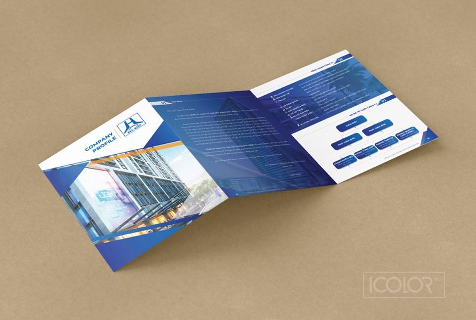Thiết kế Profile Công ty Xây dựng Tư vấn Đức Kiên