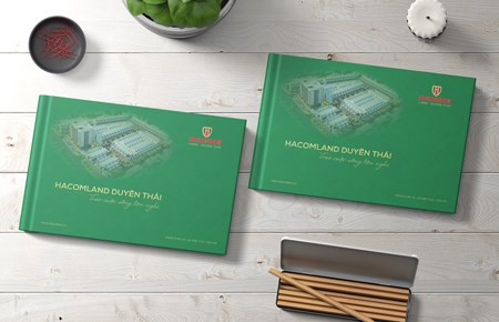 Thiết kế Catalog Công ty HacomLand Duyên TháiDesigned by iColor