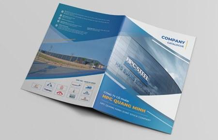 Thiết kế Catalogue CTCP HPC Quang Minh