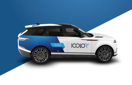 Bộ nhận diện thương hiệu công ty Sáng tạo Thương hiệu ICOLOR