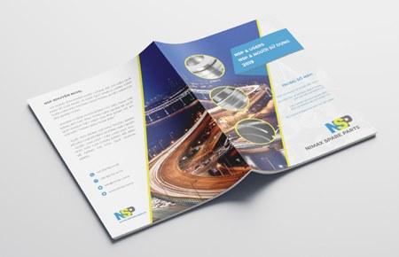 Thiết kế catalogue Công ty Động cơ Thủy lực TNC