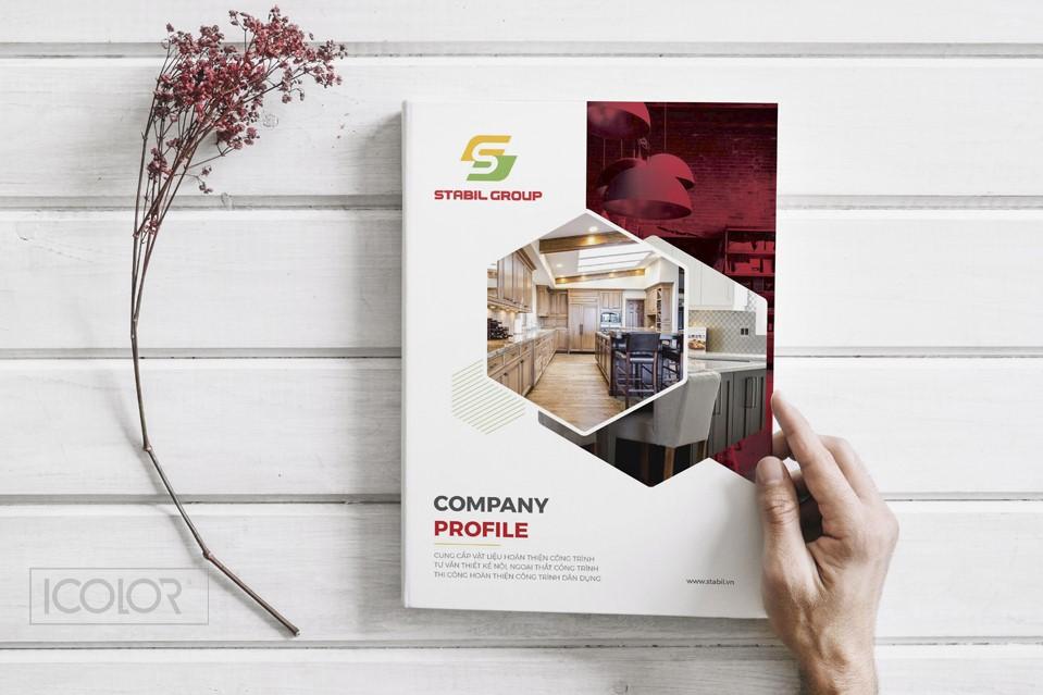 Thiết kế catalog CTCP Stabil Group