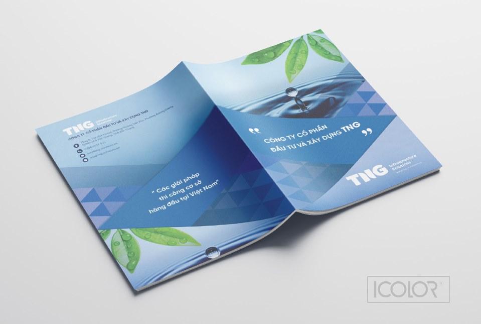 Thiết kế profile CTCP Đầu tư và Xây dựng TNG