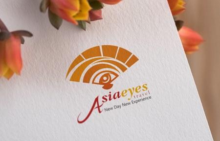 Thiết kế logo CTCP Du lịch Đôi mắt Á Châu
