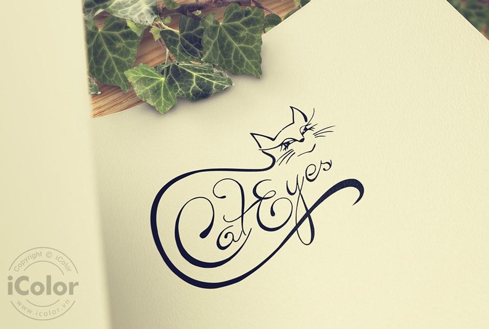 Thiết kế logo Nhóm nhạc Cateyes