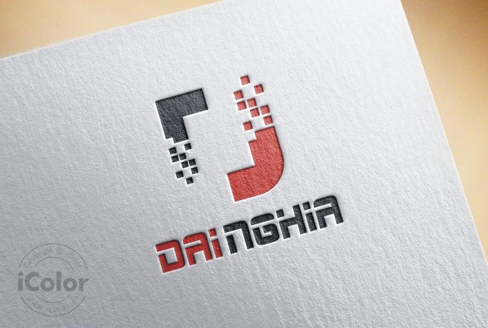 Thiết kế logo Công ty TM DVKT Đại Nghĩa