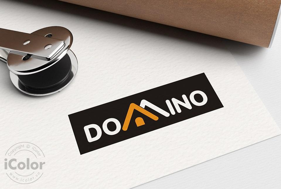 Thiết kế logo Công ty Domino