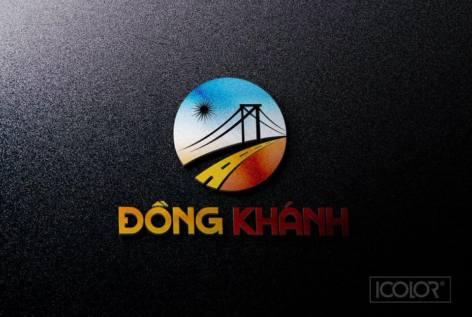 Thiết kế logo CT Xây dựng Đồng Khánh