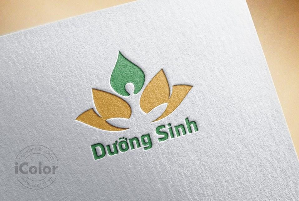 Thiết kế logo Dưỡng Sinh