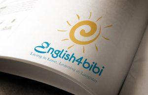 Thiết kế logo Trung tâm Tiếng anh E4bibi