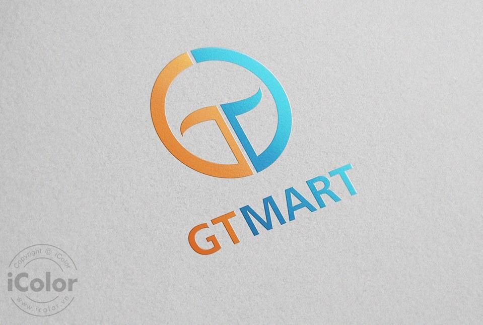 Thiết kế logo Công ty Gia Thịnh - GTMart