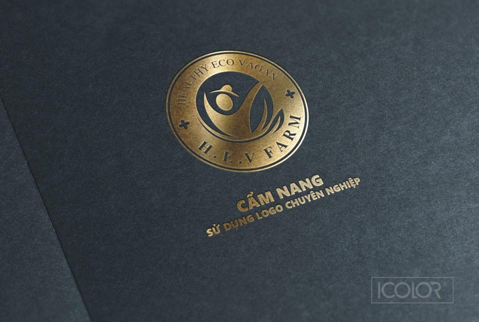 Thiết kế logo sản phẩm Trà H-E-V