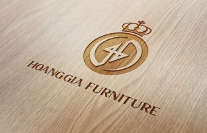 Thiết kế logo Công ty CP Kiến trúc TT Nội thất Hoàng Gia