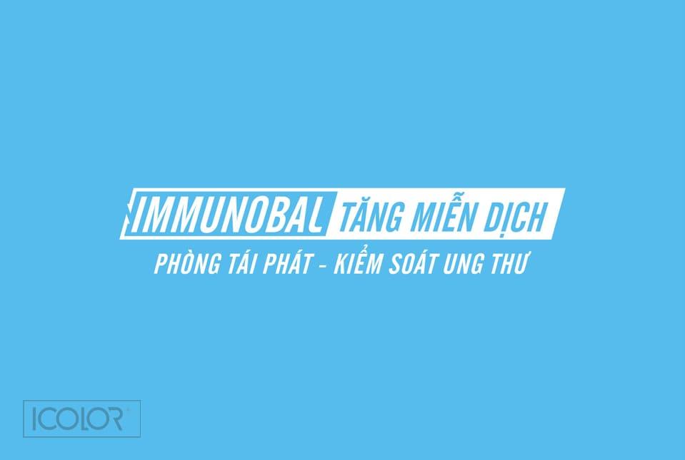 Thiết kế logo Sản phẩm immunobal