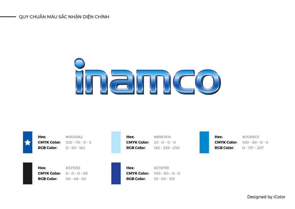 Thiết kế logo công ty cổ phần INAMCO