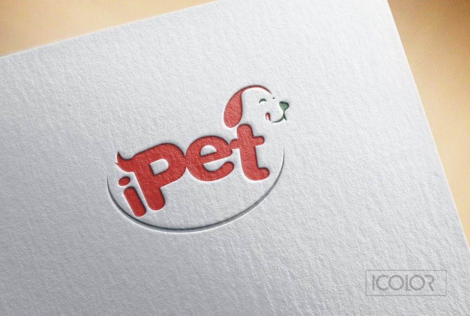 Thiết kế logo Shop iPet