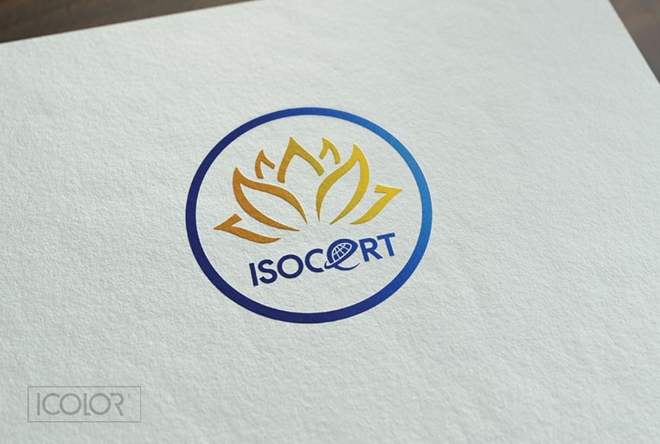 Thiết kế logo CTCP Quốc tế ISOCUS