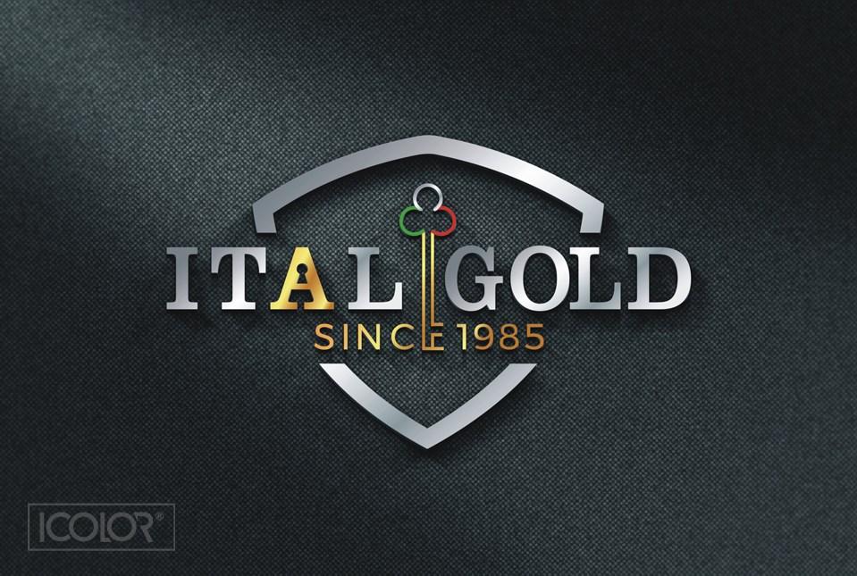 Thiết kế logo Khóa ITALI GOLD