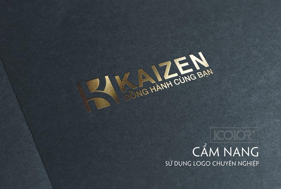 Thiết kế logo CT cung ứng nhân lực KAIZEN