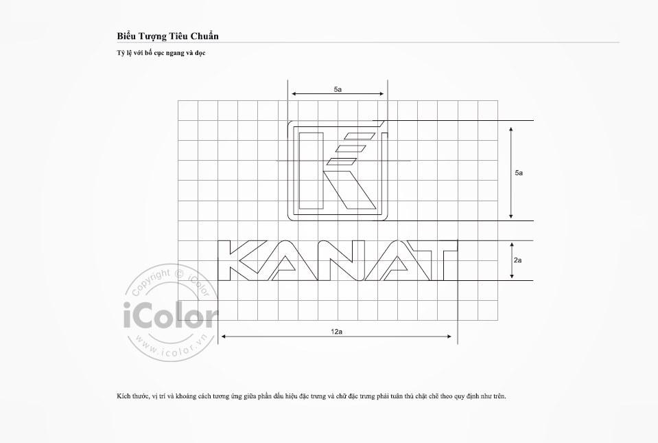Thiết kế bộ nhận diện Công ty Kanat