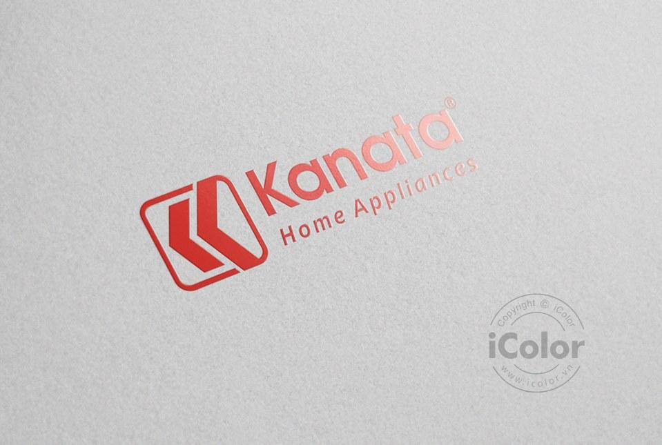 Thiết kế logo Công ty Kanata