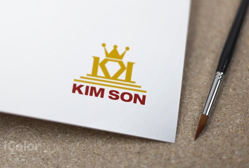 Thiết kế logo Công ty TNHH Vàng Bạc Kim Sơn