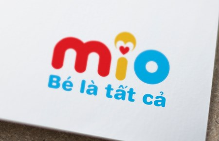Thiết kế thương hiệu thời trang trẻ em MiO