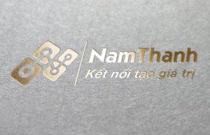 Thiết kế logo Cty CP Viễn thông Nam Thanh