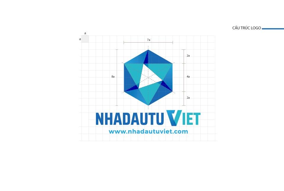 Thiết kế logo CTCP Nhà đầu tư Việt