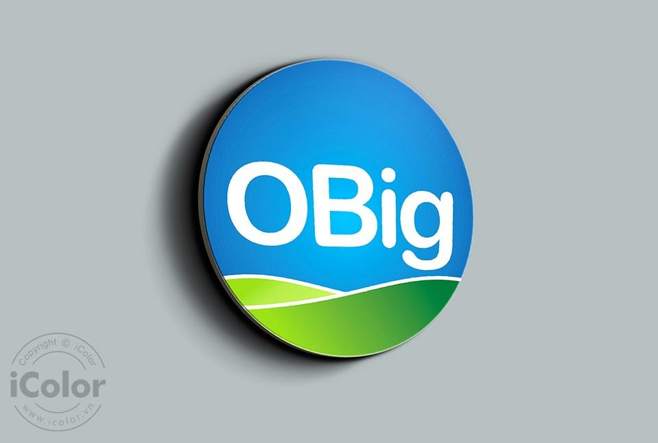 Thiết kế logo công ty Obig