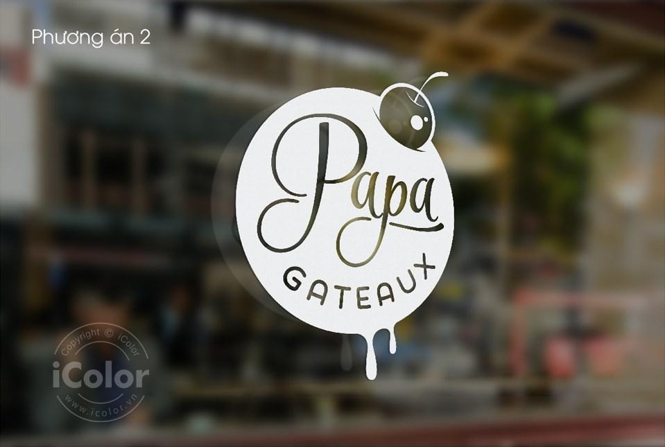Thiết kế logo Papa