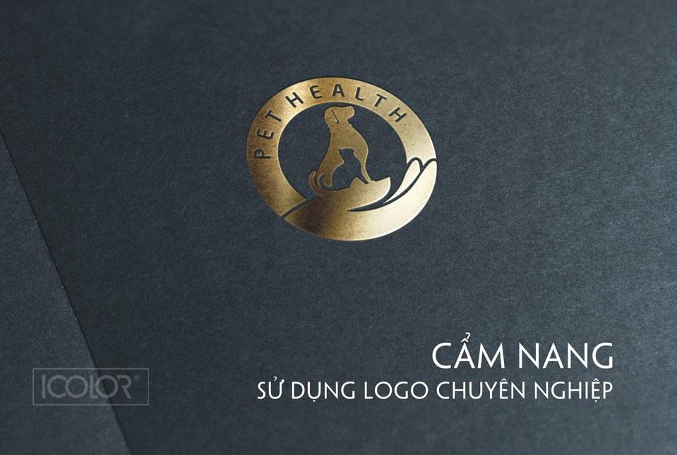 Thiết kế logo Hệ thống Bệnh viện thú y Pethealth