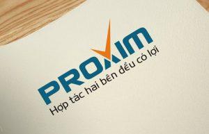 Thiết kế logo Công ty Cổ Phần Proxim