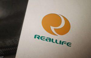 Thiết kế logo Real Life