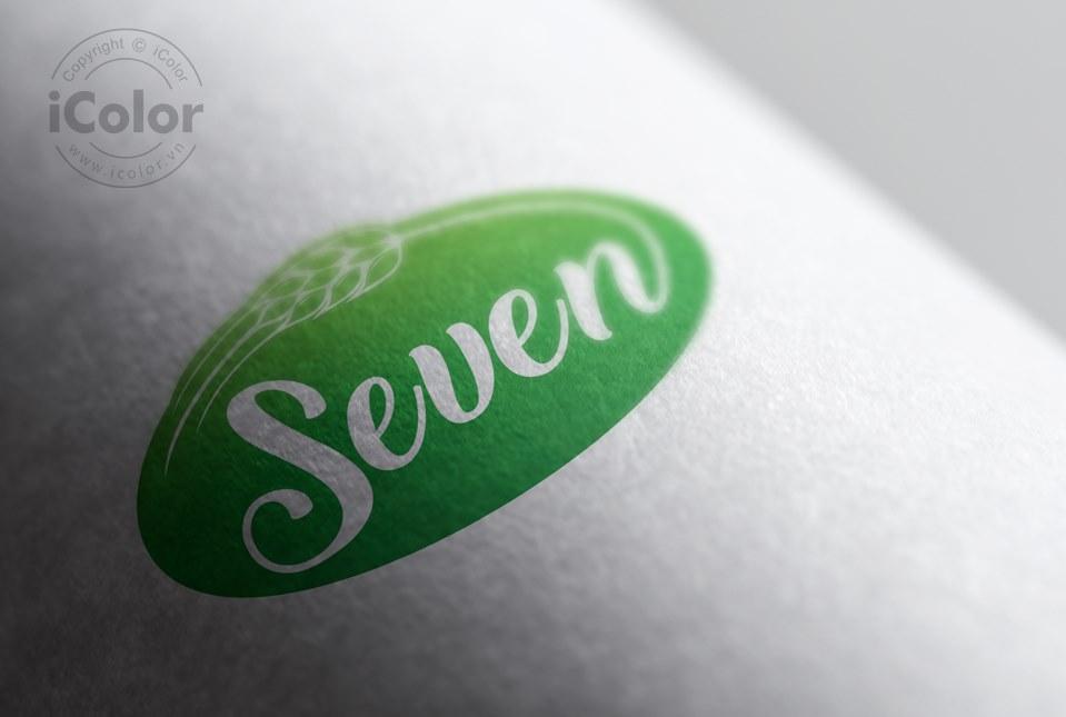 Thiết kế logo sản phẩm Seven