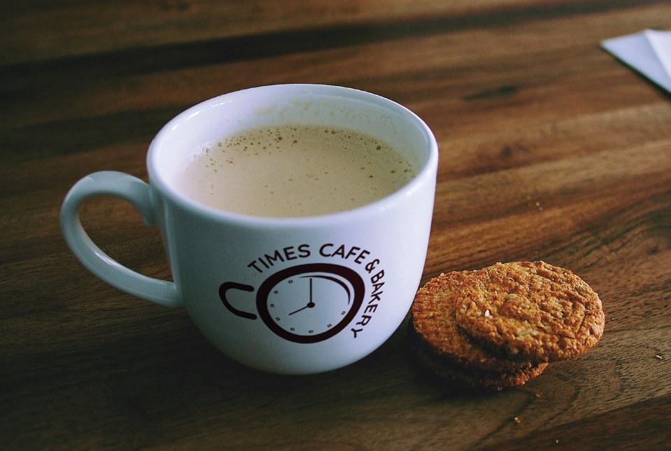 Thiết kế logo Cà phê Times Cafe & Bakery