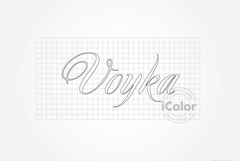 Thiết kế bộ nhận diện thương hiệu Voyka