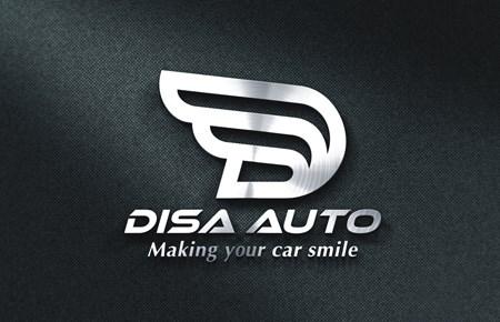 Thiết kế logo Gara DISA AUTO