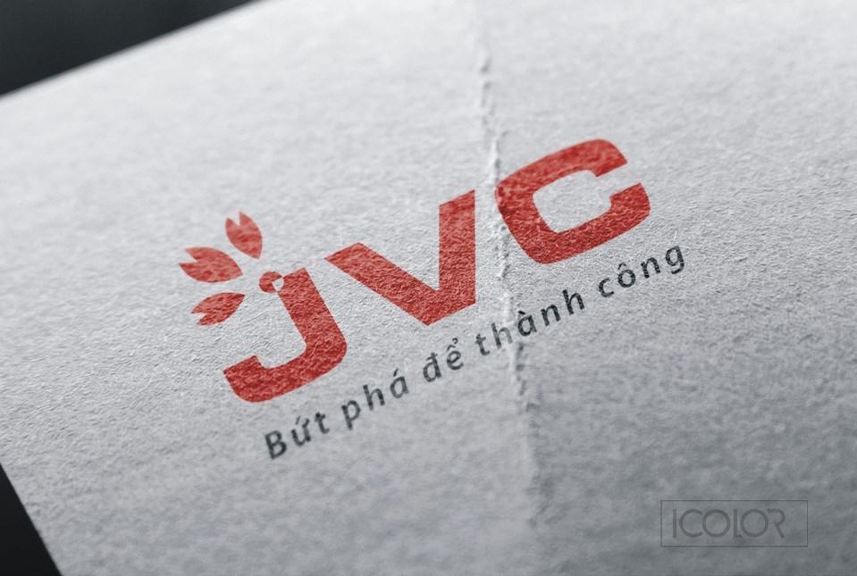 Thiết kế logo CTCP Đầu tư TM Quốc tế JVC