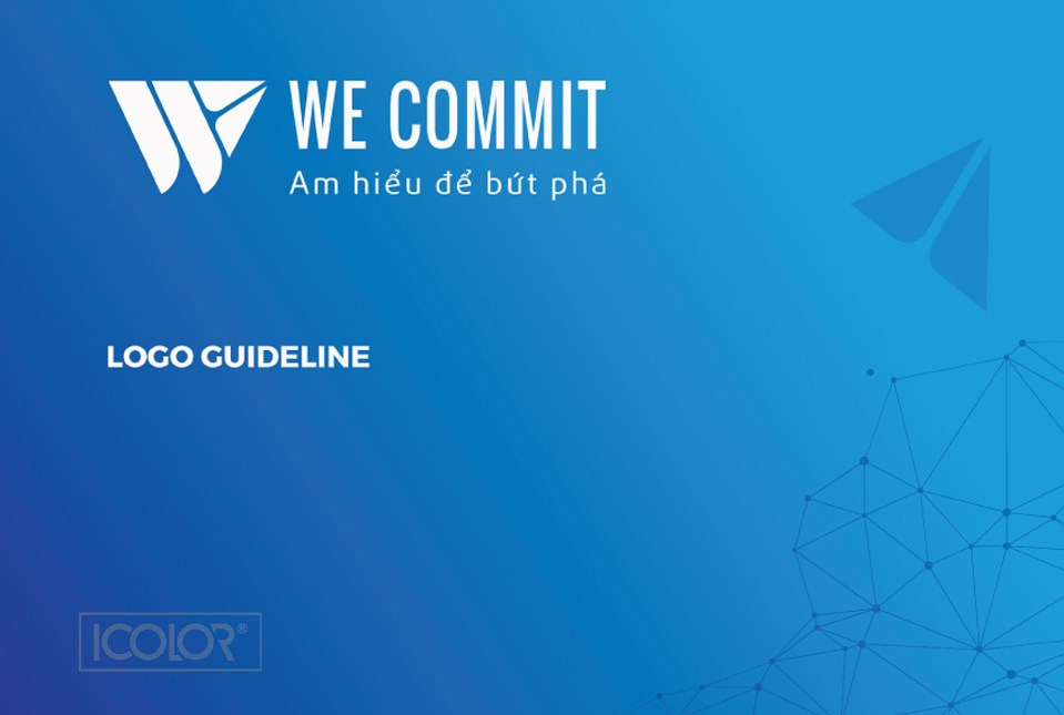 Thiết kế logo CT CNTT Xử lý dữ liệu WeCommit