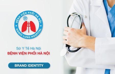 Thiết kế bộ nhận diện Bệnh viện phổi Hà Nội