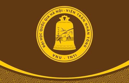 Thiết kế bộ nhận diện Viện Trần Nhân Tông. Viện Trần Nhân Tông, Đại học Quốc gia Hà Nội VNU - Tran Nhan Tong Institute