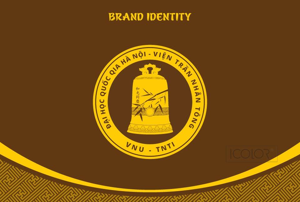 Thiết kế bộ nhận diện Viện Trần Nhân Tông
